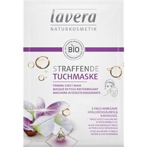 Lavera - Mascarillas - Ácidos hialurónicos y aceite de karanja de 3 efectos Ácidos hialurónicos y aceite de karanja de 3 efectos
