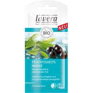 Lavera Gesichtspflege Faces Masken Feuchtigkeits Maske - Bio-Acaibeere & Weisser Bio-Tee 8 ml
