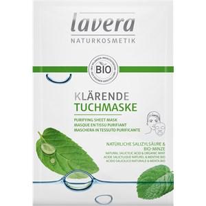 Lavera - Máscaras - Ácido salicílico natural e hortelã Bio Ácido salicílico natural e hortelã Bio