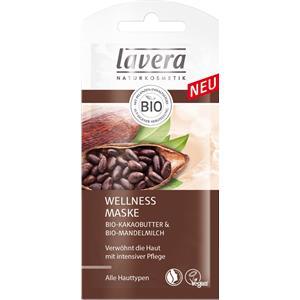 Lavera - Masken - Wellness Maske - Bio-Mandelmilch & Bio-Kakaobutter