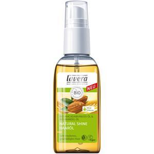 lavera Natural Shine Bio-Mandelöl & Bio-Macadamianussöl Haaröl