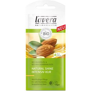 Lavera Haarpflege Pflege Natural Shine Intensiv-Kur - Bio-Mandelöl & Bio-Macadamianussöl 20 ml