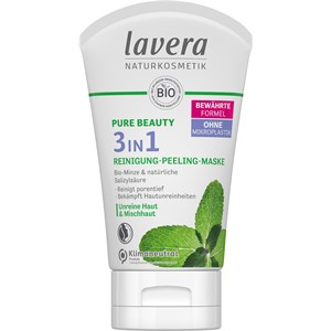 Lavera - Cleansing - Pure Beauty 3in1 Reinigung Peeling Maske