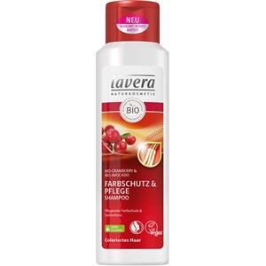 Lavera - Shampoo - Organic Cranberry & Organic Avocado Colour Protection & Care Shampoo