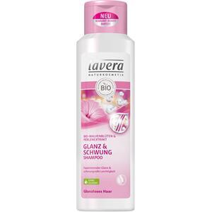 Lavera - Shampoo - Bio malvabloesem & parelextract Gloss & Bounce shampoo