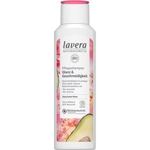 Lavera - Shampoo - Pflegeshampoo Glanz & Geschmeidigkeit