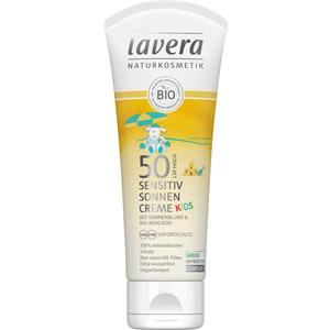 Lavera - Sun Sensitiv - Sensitiv Sonnencreme Kids LSF 50