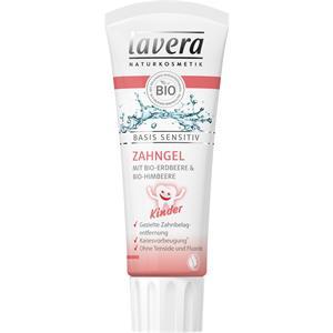 Lavera - Igiene dentale - Dentifricio gel fragola e lampone