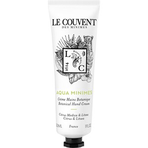 Le Couvent des Minimes - Colognes Botaniques - Aqua Minimes Hand Cream