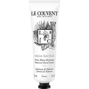 Le Couvent des Minimes - Colognes Botaniques - Aqua Sacrae Hand Cream