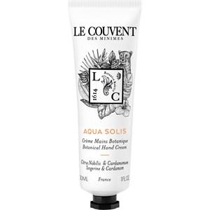 Le Couvent des Minimes - Colognes Botaniques - Aqua Solis Hand Cream