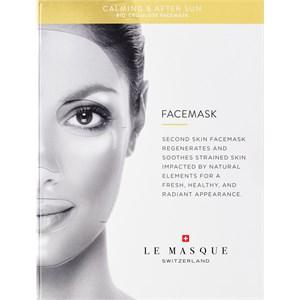 Le Masque Switzerland - Masken - Bio-Cellulose  Calming & After Sun Face Mask