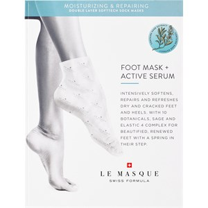 Le Masque Switzerland - Masks - Double Layer Softtech  Moisturizing & Repairing Foot Mask