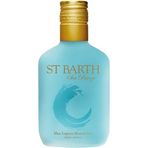 LIGNE ST BARTH - SEA BREEZE - With Coconut Oil Blue Lagoon Shower Gel