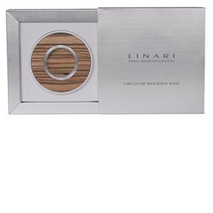 Image of Linari Accessoires Circular Wooden Bases Zebrano Circular Base 1 Stk.