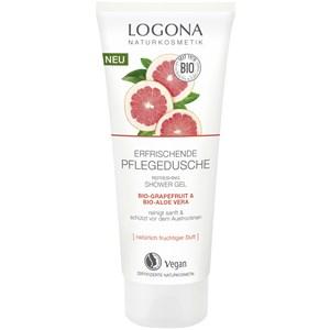 Logona - Duschpflege - Bio-Grapefruit & Bio-Aloe Vera Erfrischende Pflegedusche
