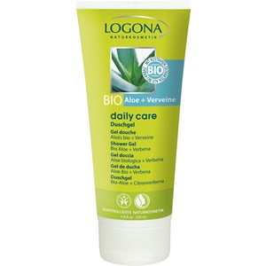 Logona - Duschpflege - Duschgel Bio-Aloe + Verveine