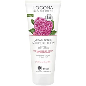 Logona - Lotionen - Bio-Damaszener Rose & Bio-Sheabutter Körperlotion
