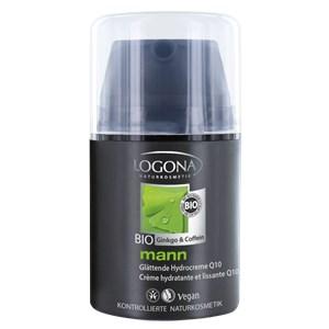 Logona - Mann - Bio-Ginko & Bio-Coffein mann Glättende Hydrocreme Q10
