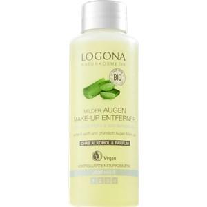Logona - Reinigung - Bio-Aloe Vera & Bio-Mandelöl Milder Augen Make-up Entferner