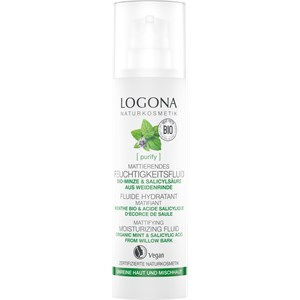 Logona - Cleansing - Organic Mint & Salicylic Acid from Willow bark Organic Mint & Salicylic Acid from Willow bark