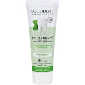 Logona - Zahnpflege - Extra Frische Daily Care Pfefferminz Zahncreme