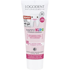 Logona - Zahnpflege - Happy Kids Erdbeer-Zahngel
