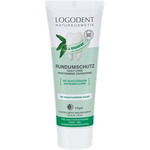 Logona - Zahnpflege - Rundumschutz Daily Care Pfefferminz Zahncreme mit Flourid
