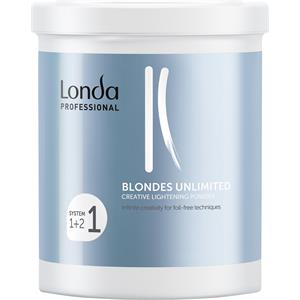 Image of Londa Professional Haarfarben & Tönungen Blondes Unlimited Creative Lightening Powder 400 g