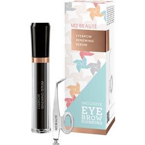 Image of M2 BEAUTÉ Pflege M2Brows Summer Edition Set Eyebrow Renewing Serum 5 ml + Eyebrow Scissors 1 Stk. 1 Stk.