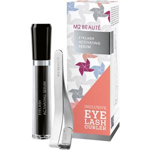 Image of M2 BEAUTÉ Pflege M2Lashes Summer Edition Set Eyelash Activating Serum 5 ml + Eyelash Curler 1 Stk. 1 Stk.