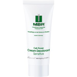 MBR Medical Beauty Research - BioChange Anti-Ageing Body Care - Cell-Power Cream Deodorant Sensitive