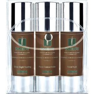MBR Medical Beauty Research Herrenpflege Men Oleosome Travel Set Over Night Peeling 50 ml + Face Concentrate 50 ml + Face Fluid 50 ml 1 Stk.