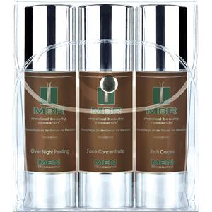 MBR Medical Beauty Research Herrenpflege Men Oleosome Travel Set Over Night Peeling 50 ml + Face Concentrate 50 ml + Rich Cream 50 ml 1 Stk.