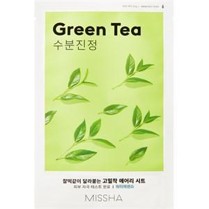 MISSHA - Tuchmasken - Airy Fit Mask Green Tea