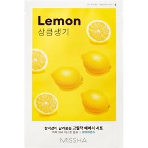MISSHA - Tuchmasken - Mask Lemon