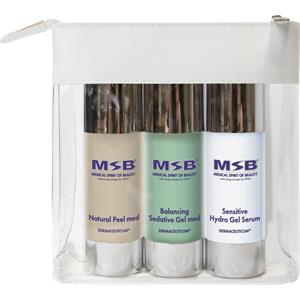 Image of MSB Medical Spirit of Beauty Pflege Treatment Sets Travel Set Natural Peel med 30 ml + Balancing Sedative Gel med 30 ml + Sensitive Hydro Gel Serum 30 ml 1 Stk.
