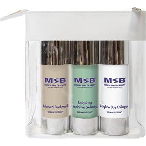 Image of MSB Medical Spirit of Beauty Pflege Treatment Sets Travel Set Natural Peel med 30 ml + Balancing Sedative Gel med 30 ml + Night & Day Collagen 30 ml 1 Stk.