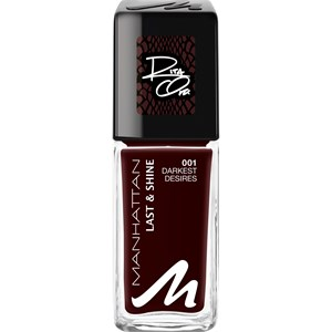 Manhattan - Even Angels Have A Dark Side - Last & Shine Nail Polish