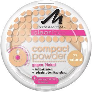 Manhattan Make-up Gesicht Clearface Compact Powder Nr. 75 1 Stk.