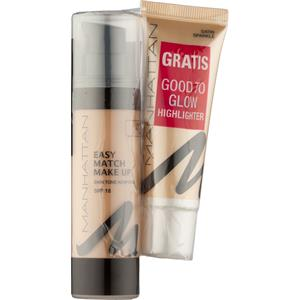 Manhattan - Gesicht - Easy Match Make Up + Good To Glow