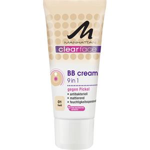 Manhattan - Gesichtspflege - Clearface 9 in 1 BB Cream