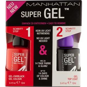 Manhattan - Nägel - Super Gel Nail Polish Duo Pack