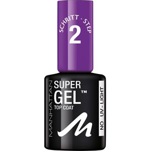 Manhattan - Nägel - Super Gel Top Coat