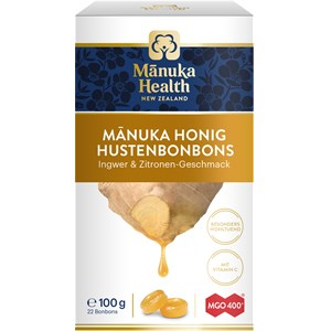 Manuka Health - Propolis - Ginger-Lemon MGO 400+ Lozenges Manuka Honey
