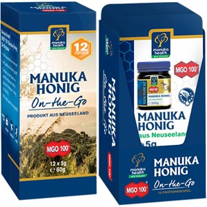 Manuka Health - Manuka Honig - MGO 100+ Manuka Honig On the Go