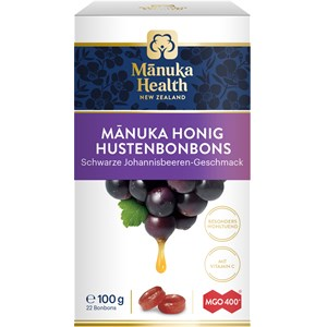 Manuka Health - Manuka Honig - Schwarze Johannisbeere MGO 400+ Lutschbonbons Manuka Honig