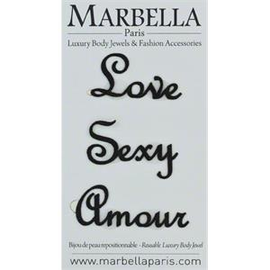 Marbella Body Jewels - French Tattoo - Love Sexy Amour