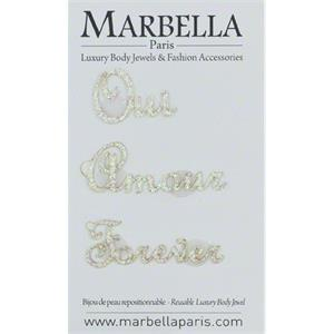 Marbella Body Jewels - Love in Paris - Ou Amour Forever