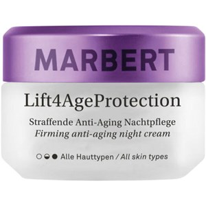 Marbert - Anti-Aging Care - Lift4AgeProtection Crema notte anti-età rassodante